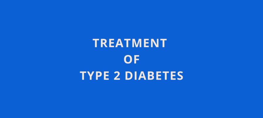 treatment of type 2 diabetes