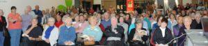 Audience at Dr. Zaidi's lecture