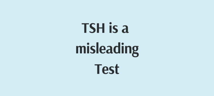 tsh is a misleading test photo