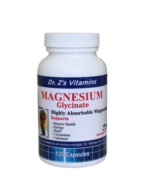 Magnesium glycinate by dr. Zaidi