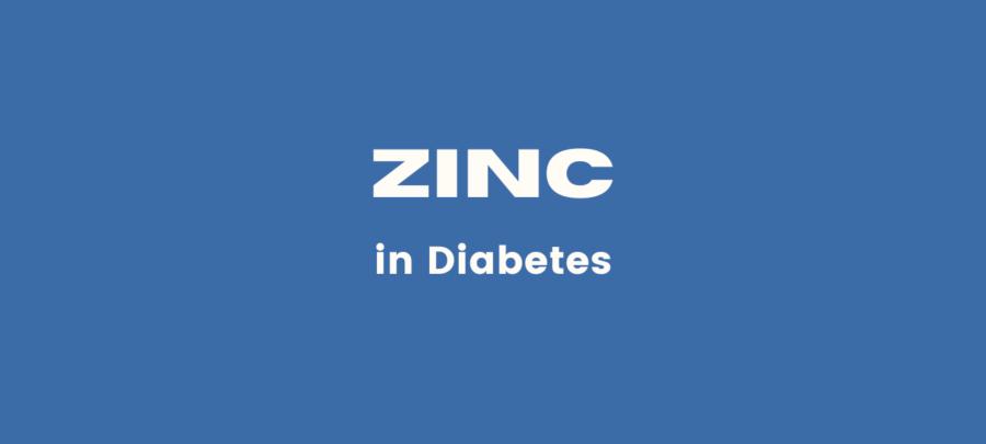 zinc supplement in diabetes