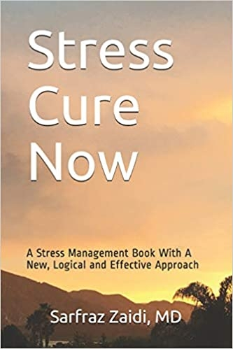 Stress-cure-now-print-book by Dr. Zaidi