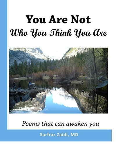 You-are-not-who-you-think-you-are - poetry book by Dr. Zaidi